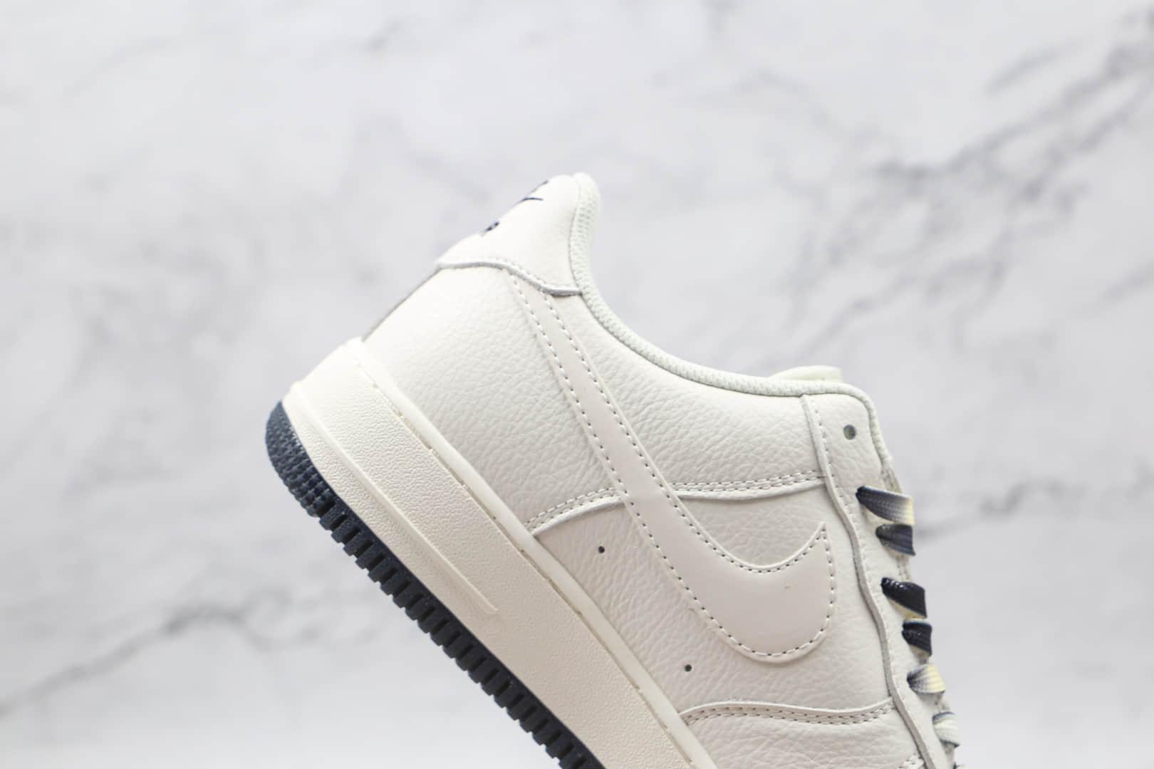 耐克Nike Air Force 1 Low '07纯原版本空军一号低帮AF1布鲁克林篮网城市限定内置solo气垫 货号:CT1989-107