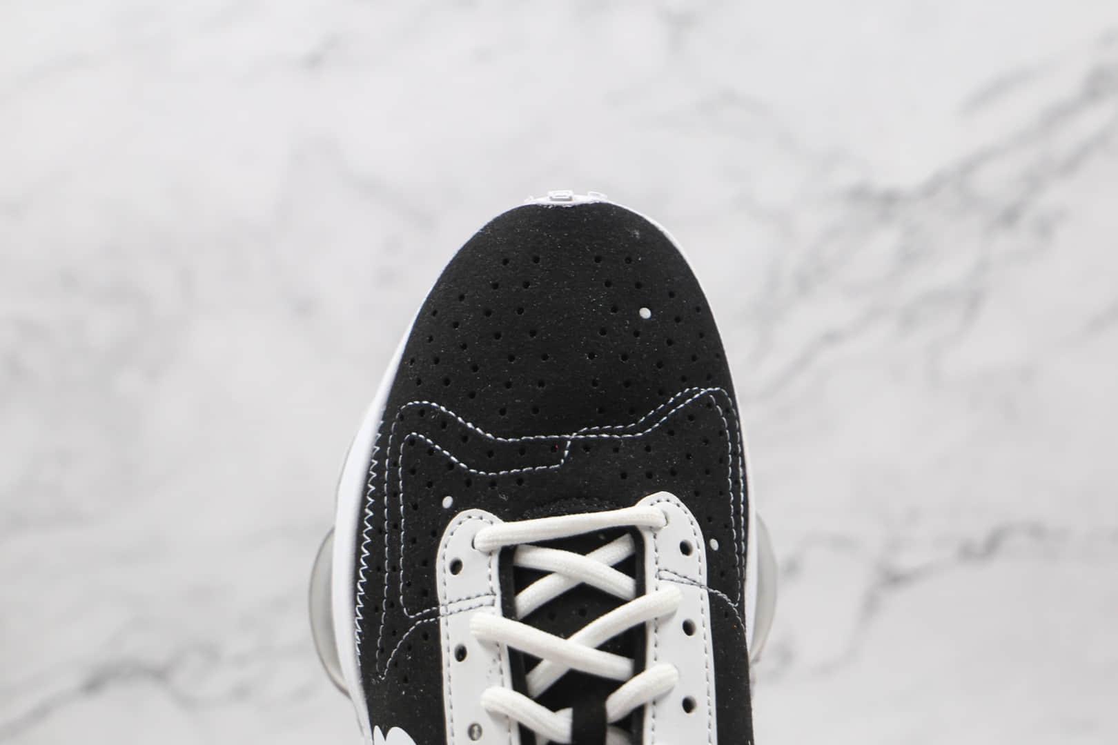 耐克Nike Air Zoom Type N.354公司级版本华夫跑鞋解构老爹鞋白黑鸳鸯双钩原楦打造 货号:DB2622-001