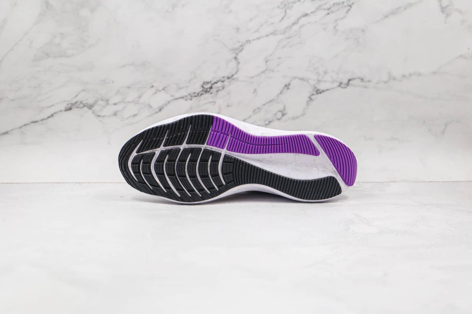 耐克Nike Zoom Winflo 8公司级版本温弗罗八代登月跑鞋白红黑色区别市面通货 货号:CW3419-101
