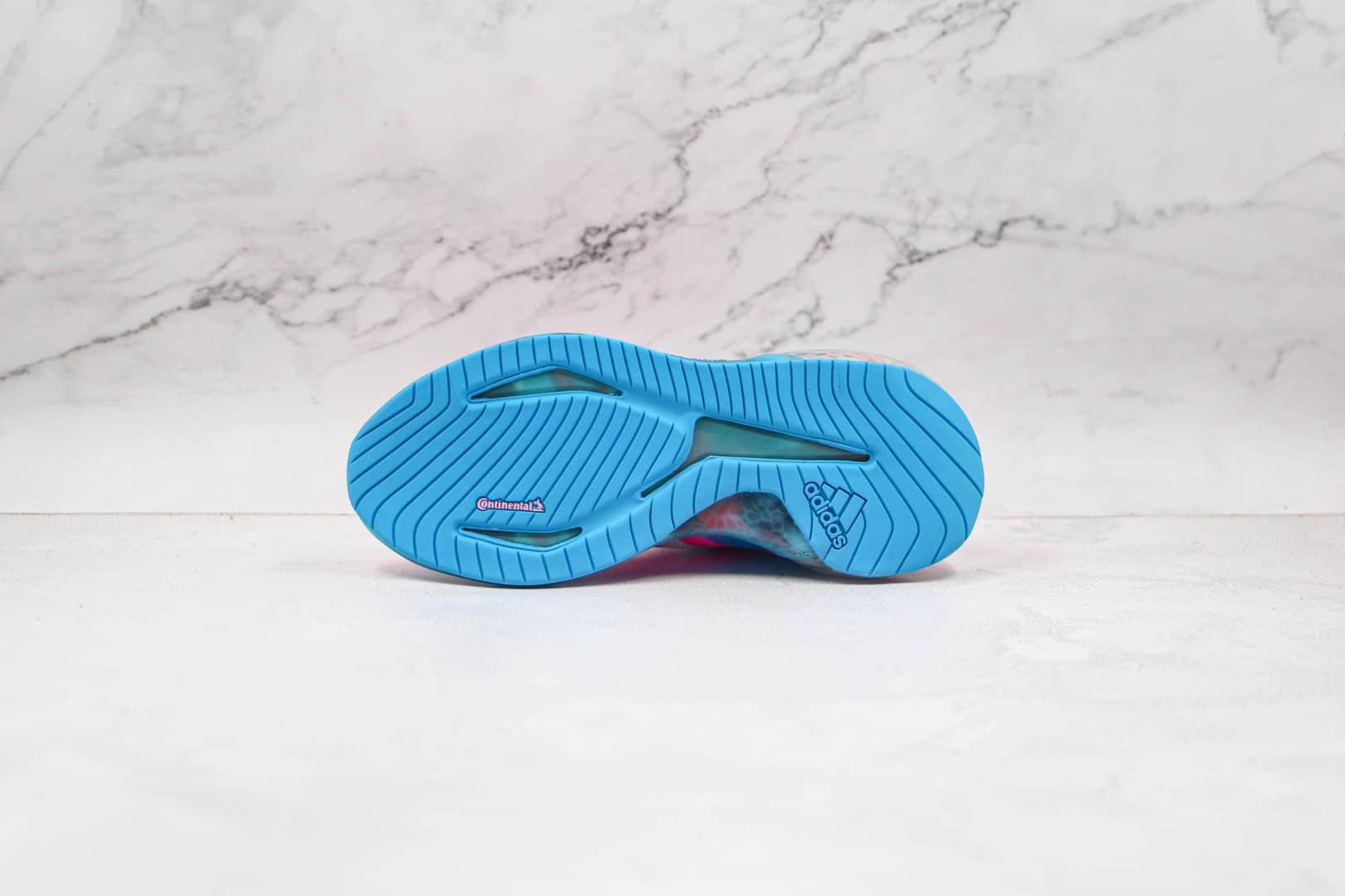 阿迪达斯Adidas AlphaBounce FT公司级版本阿尔法12代迷彩系列爆米花跑鞋灰粉色原楦打造 货号:CG3819