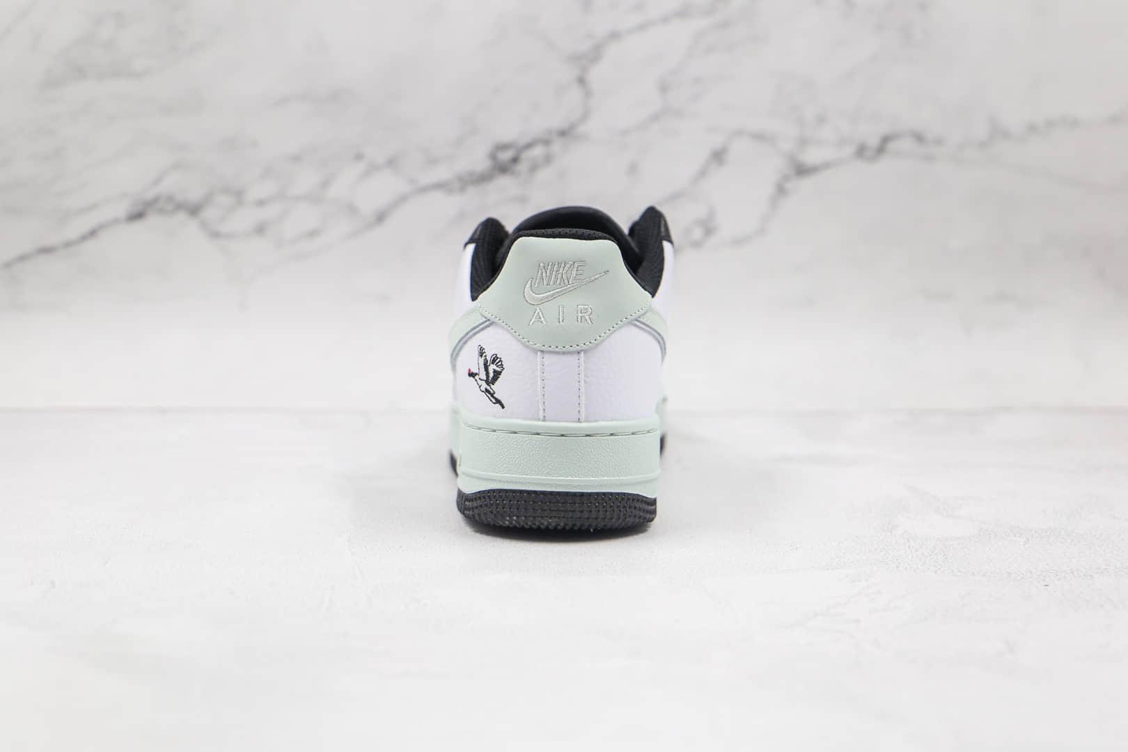 耐克Nike Air Force 1 Low Milky Stork纯原版本低帮空军一号银鹳白绿色板鞋原档案数据开发 货号:DA8482-100