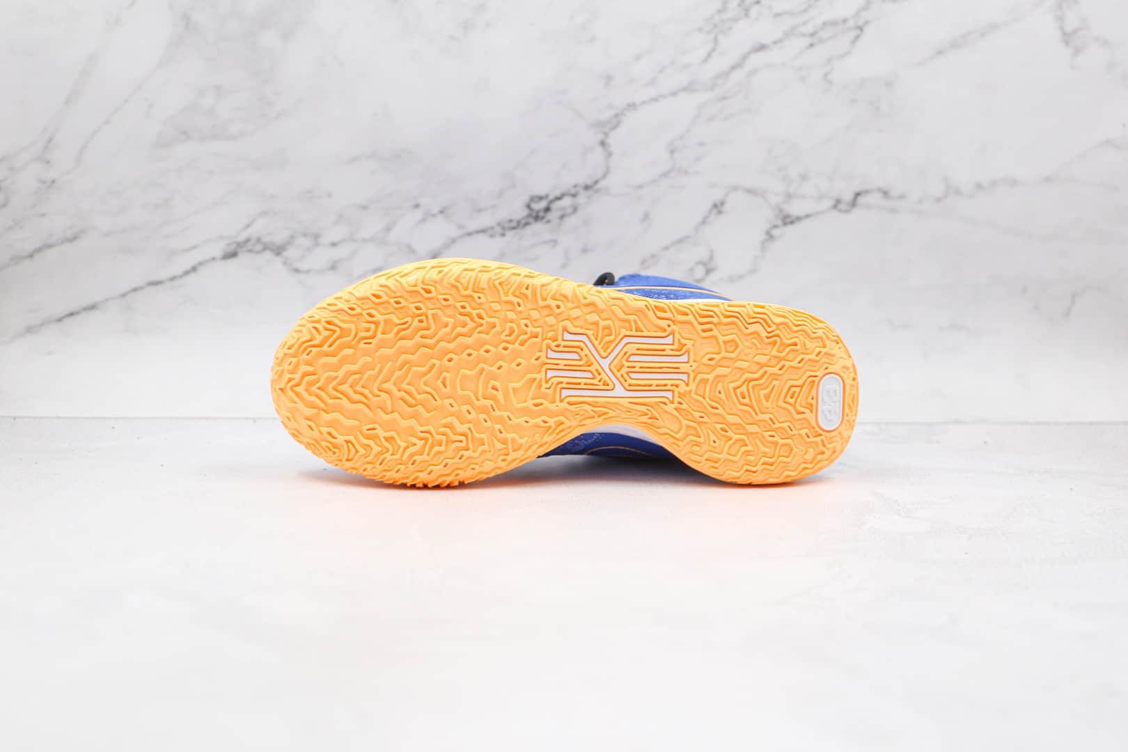 耐克Nike Kyrie 7 Sisterhood欧文7代蓝橙色实战篮球鞋原楦头纸板打造 货号:CQ9327-400
