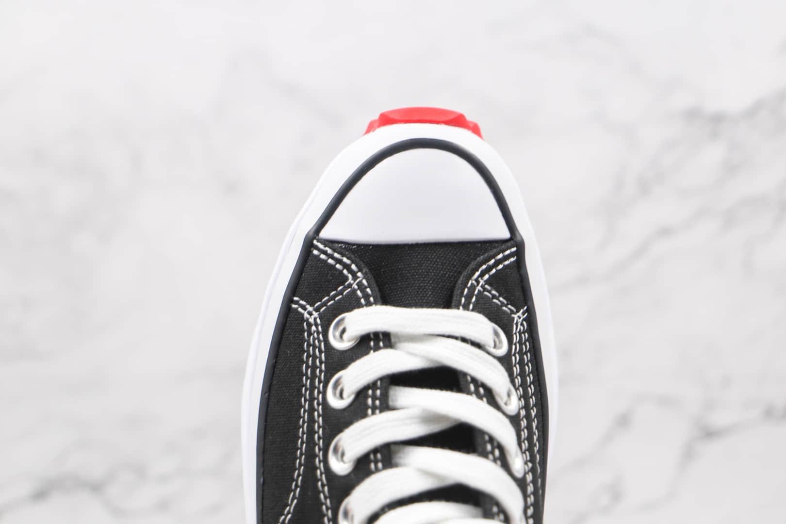 匡威CONVERSE x Keith Hatding Run Star Hike凯斯哈林联名款公司级版本高帮厚底松糕帆布鞋原盒原标 货号:171859C