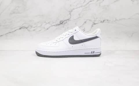 纯原版本耐克空军一号白深灰色板鞋出货