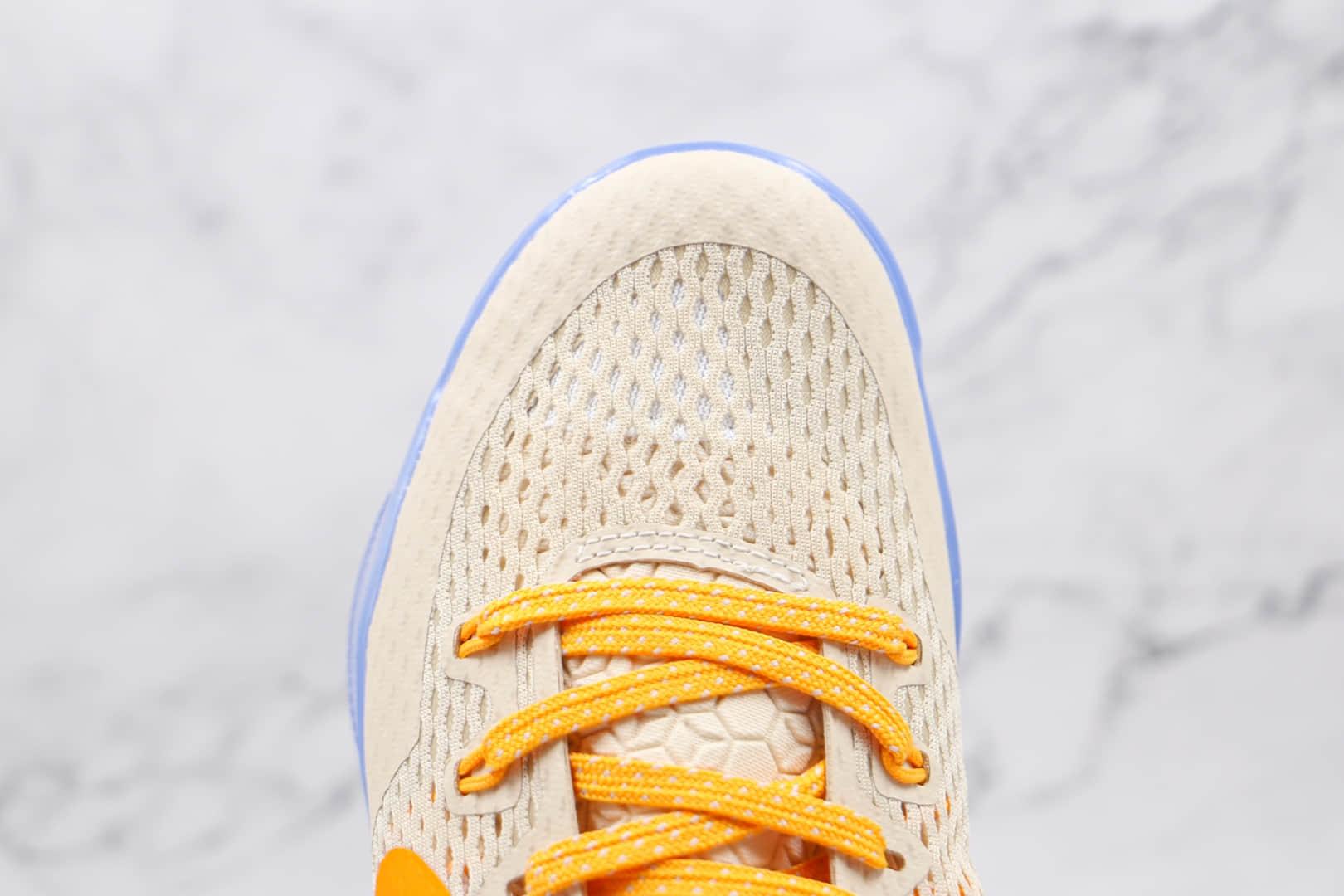 """耐克Nike Kobe 11 EM """"Peach Jam""""纯原版本科比11代篮球鞋青年精英赛配色内置气垫 货号:856852-282"""