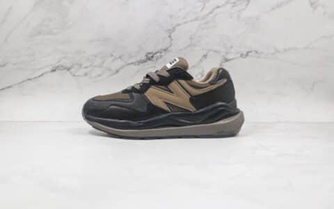 新百伦New Balance 5740纯原版本网面黑棕色NB5740慢跑鞋原楦头纸板打造 货号:M5740NX