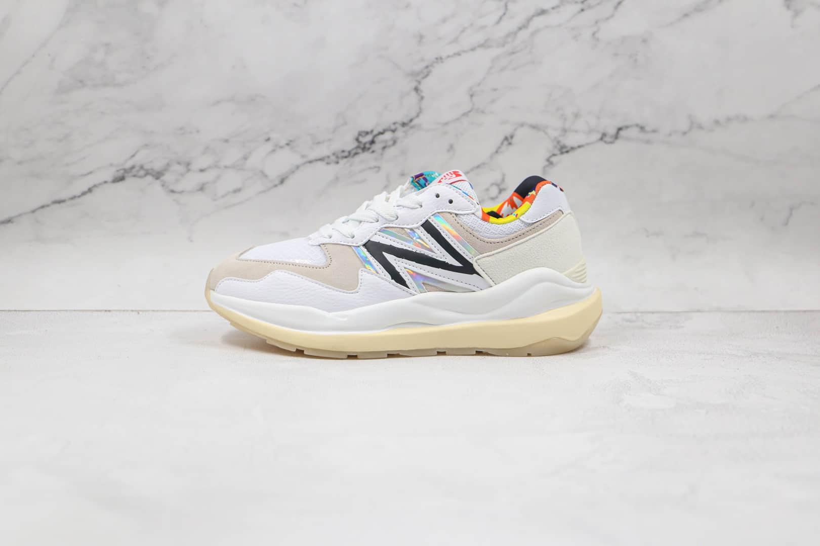 新百伦New Balance 5740纯原版本复古NB5740网面米灰色老爹鞋原楦头纸板打造 货号:M5740PR1