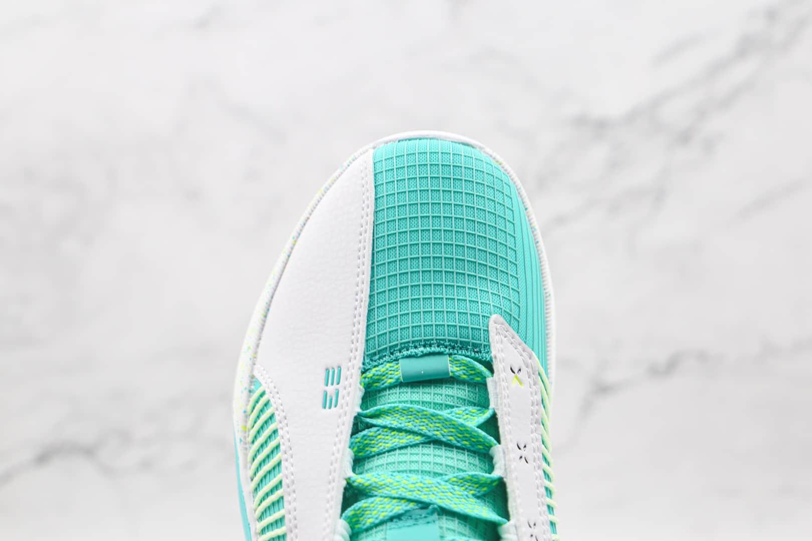 乔丹AIR JORDAN XXXV LOW PF纯原版本蒂芙尼绿AJ35篮球鞋原楦头纸板打造支持实战 货号:DJ2994-100