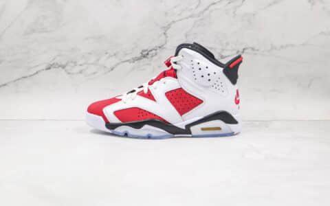 纯原版本乔丹AJ6胭脂红篮球鞋出货
