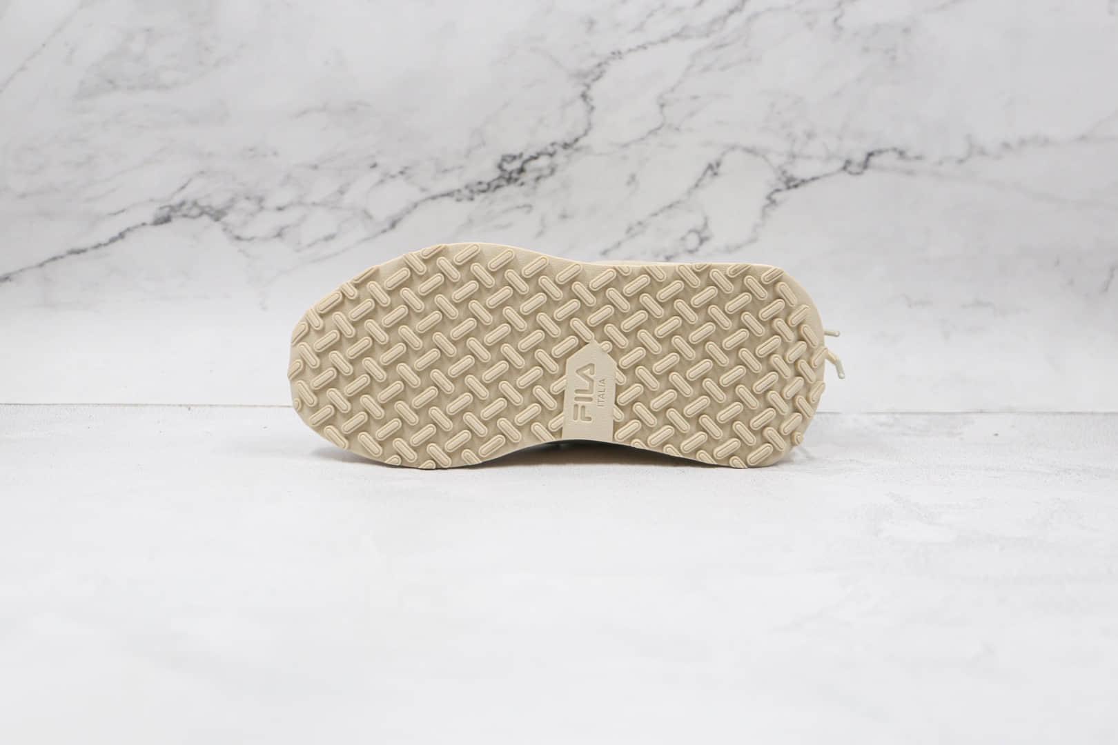 斐乐Fila Heritage纯原版本征峰者米白色老爹鞋原楦头纸板打造