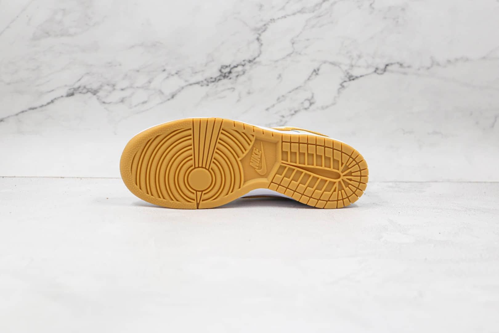 耐克Nike Dunk Low Yellow Strike纯原版本低帮DUNK水洗柠檬黄绿色板鞋原楦头纸板打造 货号:DM9467-700