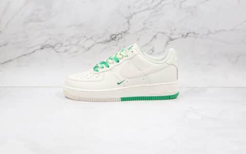 耐克Nike Air Force 1 Low '07纯原版本低帮空军一号波士顿米白绿城市限定板鞋内置气垫 货号:BO6638-160