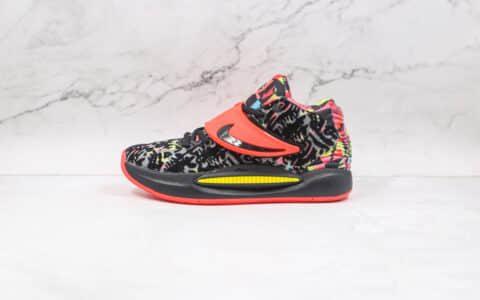耐克Nike Zoom KD 14纯原版本杜兰特14代黑七彩篮球鞋支持实战 货号:CZ0170-002