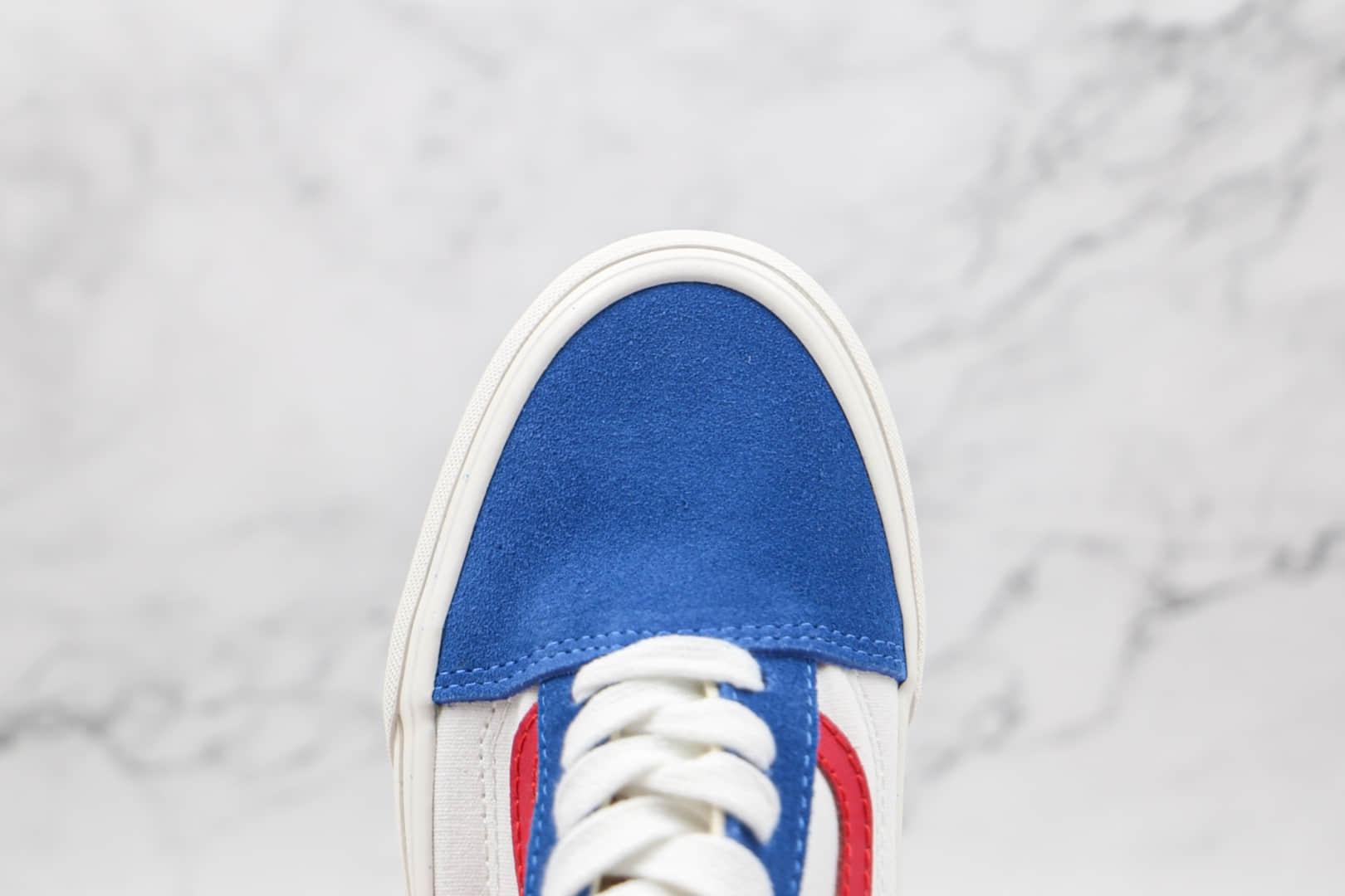 万斯Vans Old Skool x 哆啦A梦联名公司级版本叮当猫配色低帮硫化板鞋原厂硫化工艺