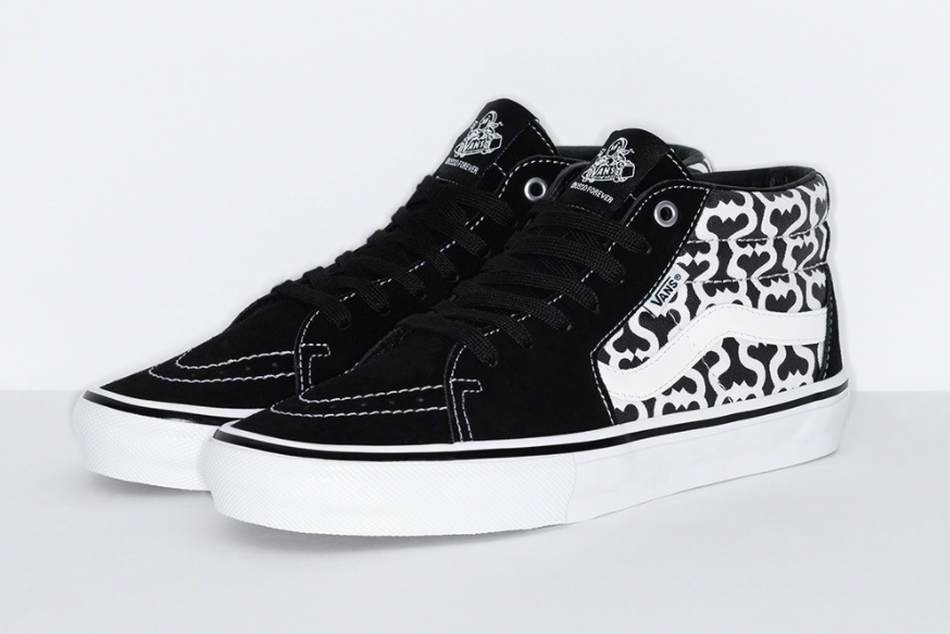 全新Supreme x Vans联名今日发售!鞋面满印太酷了!
