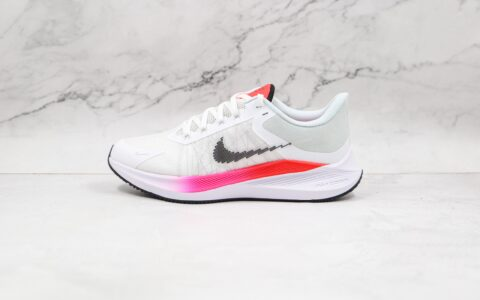 纯原版本耐克温弗罗八代白粉色线条慢跑鞋出货