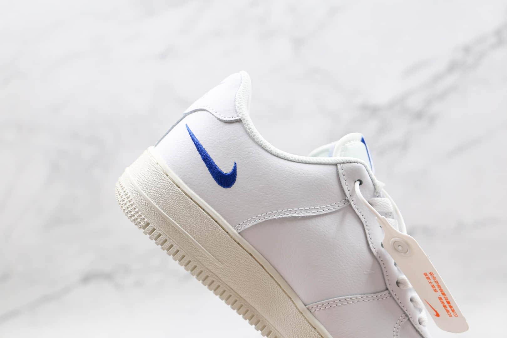 耐克Nike Air Force 1 Low '07纯原版本空军一号低帮AF1白色三钩原楦头原纸板打造 货号:DM9096-101
