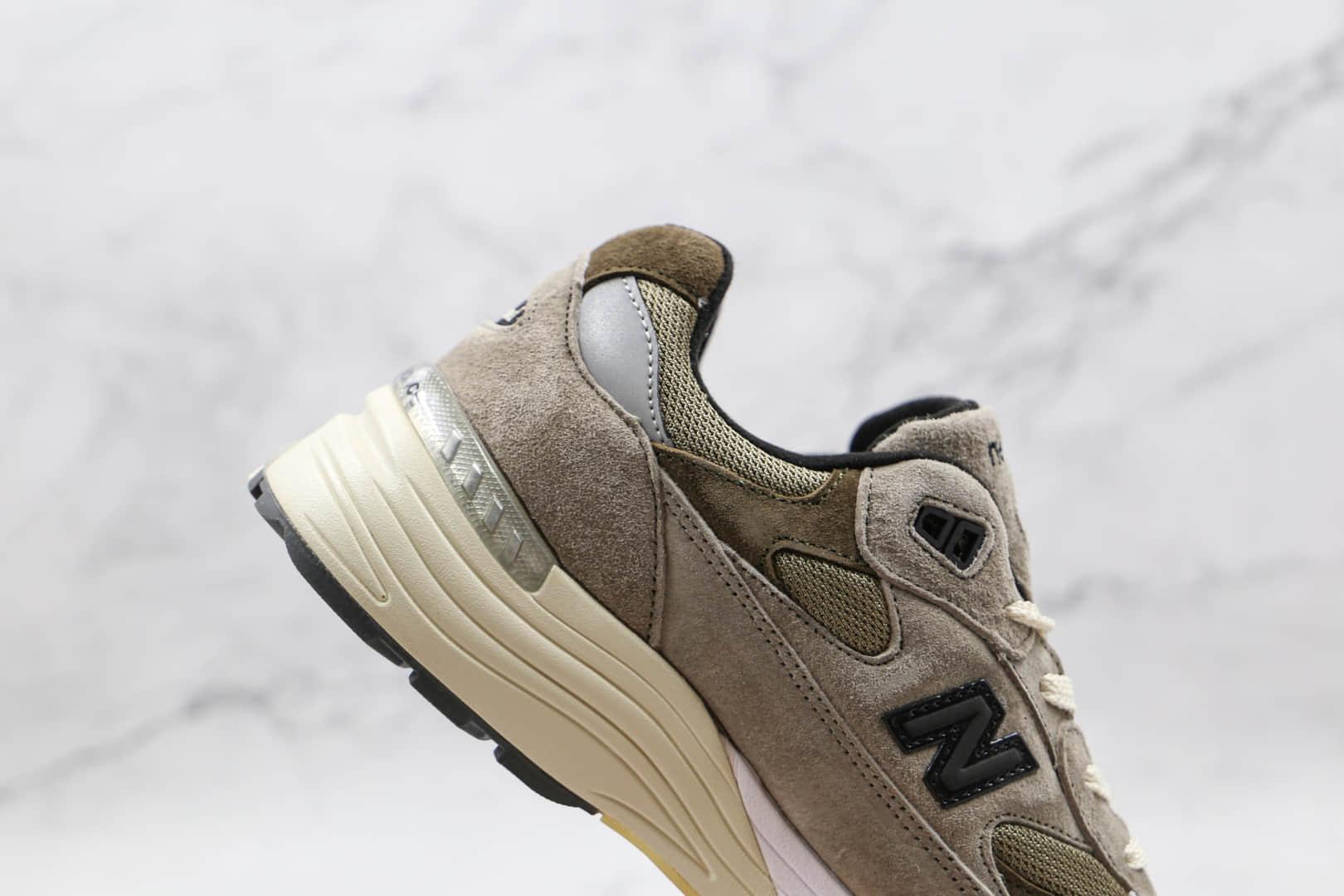 新百伦New Balance 992纯原版本美产NB992余文乐老爹鞋灰色原档案数据开发 货号:M992J2