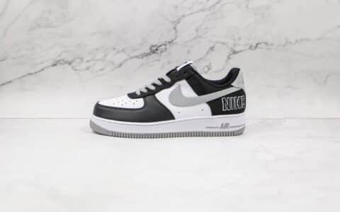 耐克Nike Air Force 1 LV8 EMB纯原版本空军一号低帮板鞋白灰黑配色原楦开发 货号:CT2301-001