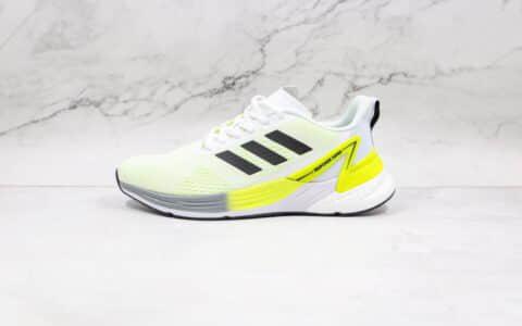 阿迪达斯Adidas RESPONSE SUPER纯原版本白黑黄色SR-l.PACE 5.0爆米花跑鞋原盒原标 货号:FY8749
