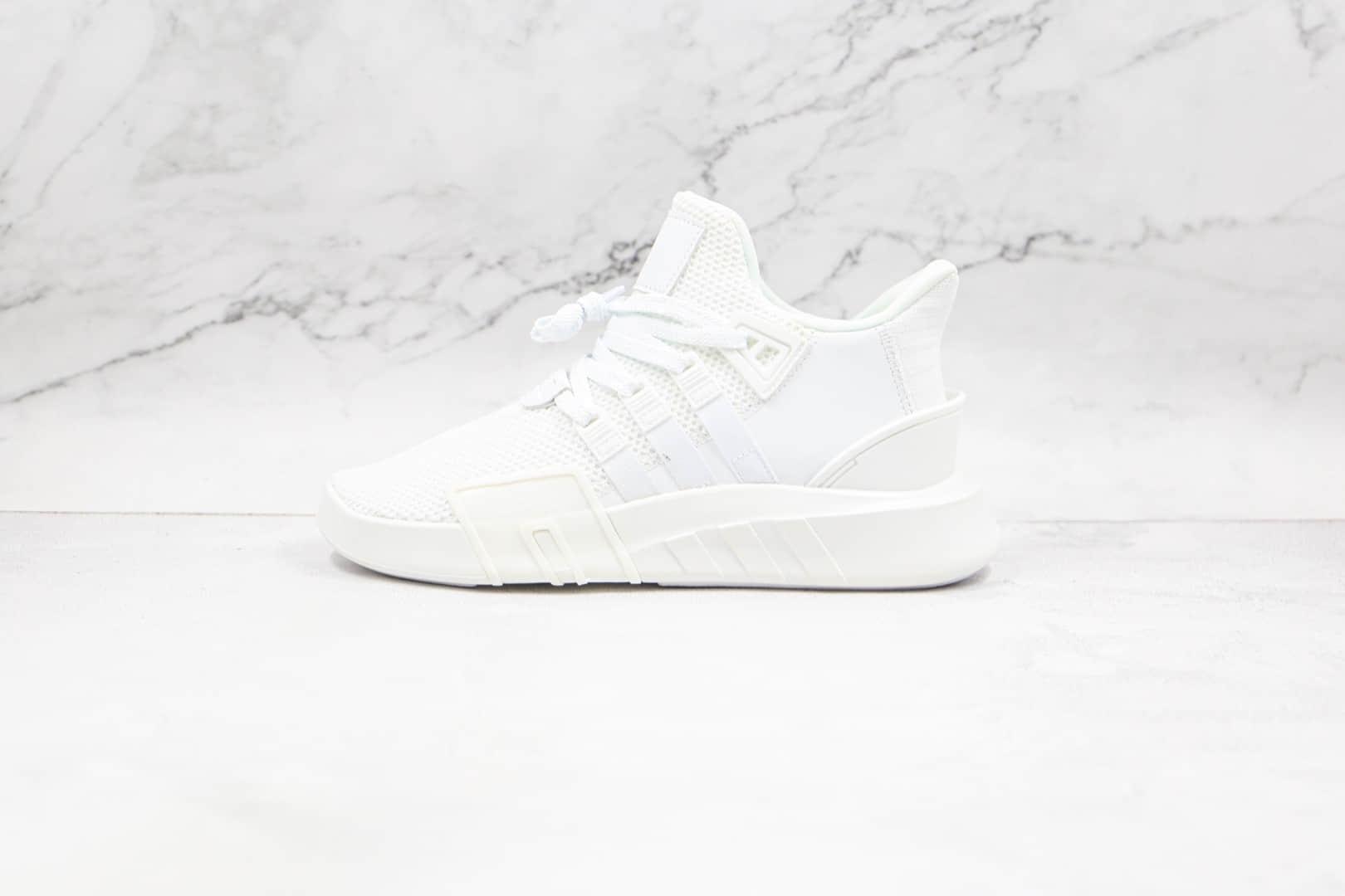 阿迪达斯Adidas EQT BASK ADV纯原版本网面纯白针织EQT支撑者系列慢跑鞋原盒原标 货号:DA9534