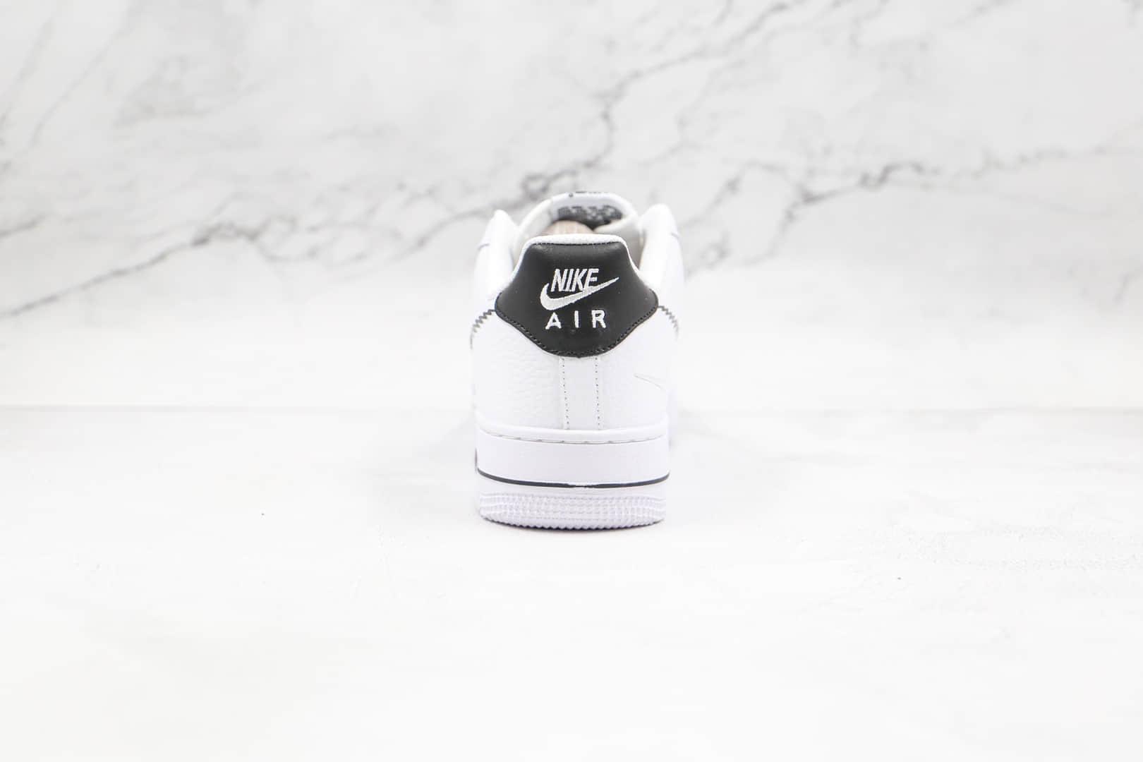 耐克Nike AIR FORCE 1纯原版本低帮空军一号白黑色涂鸦钩板鞋原档案数据开发 货号:DN4928-100