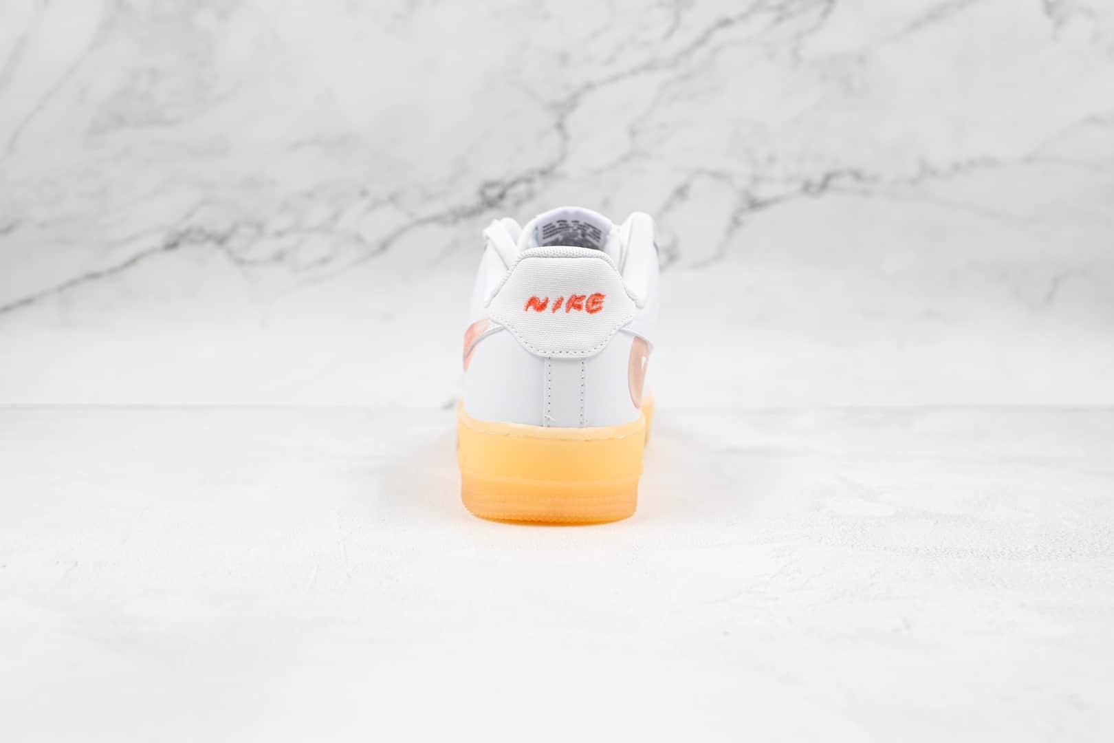 耐克Nike Flyleather x Mayumi Yamase联名款纯原版本低帮空军一号涂鸦生胶底板鞋内置气垫 货号:DB3595-100