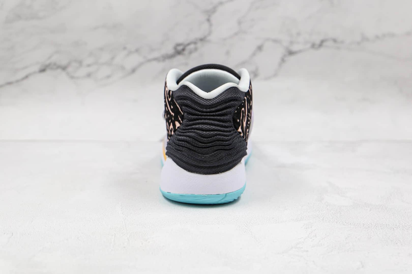 耐克Nike Zoom KD 14纯原版本杜兰特14代国内版黑白色篮球鞋内置气垫支持实战 货号:CW3935-001