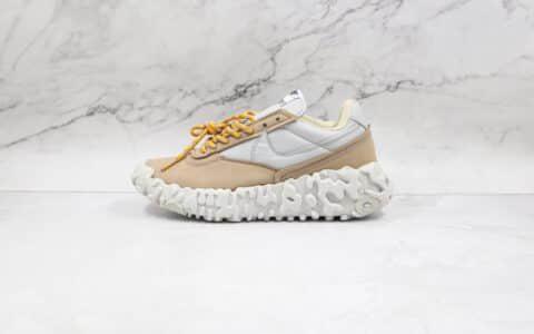 耐克Nike ISPA OverReact纯原版本瑞亚机能玫瑰花刺绣ISPA卡其色老爹鞋原楦头纸板打造 货号:DA9784-001