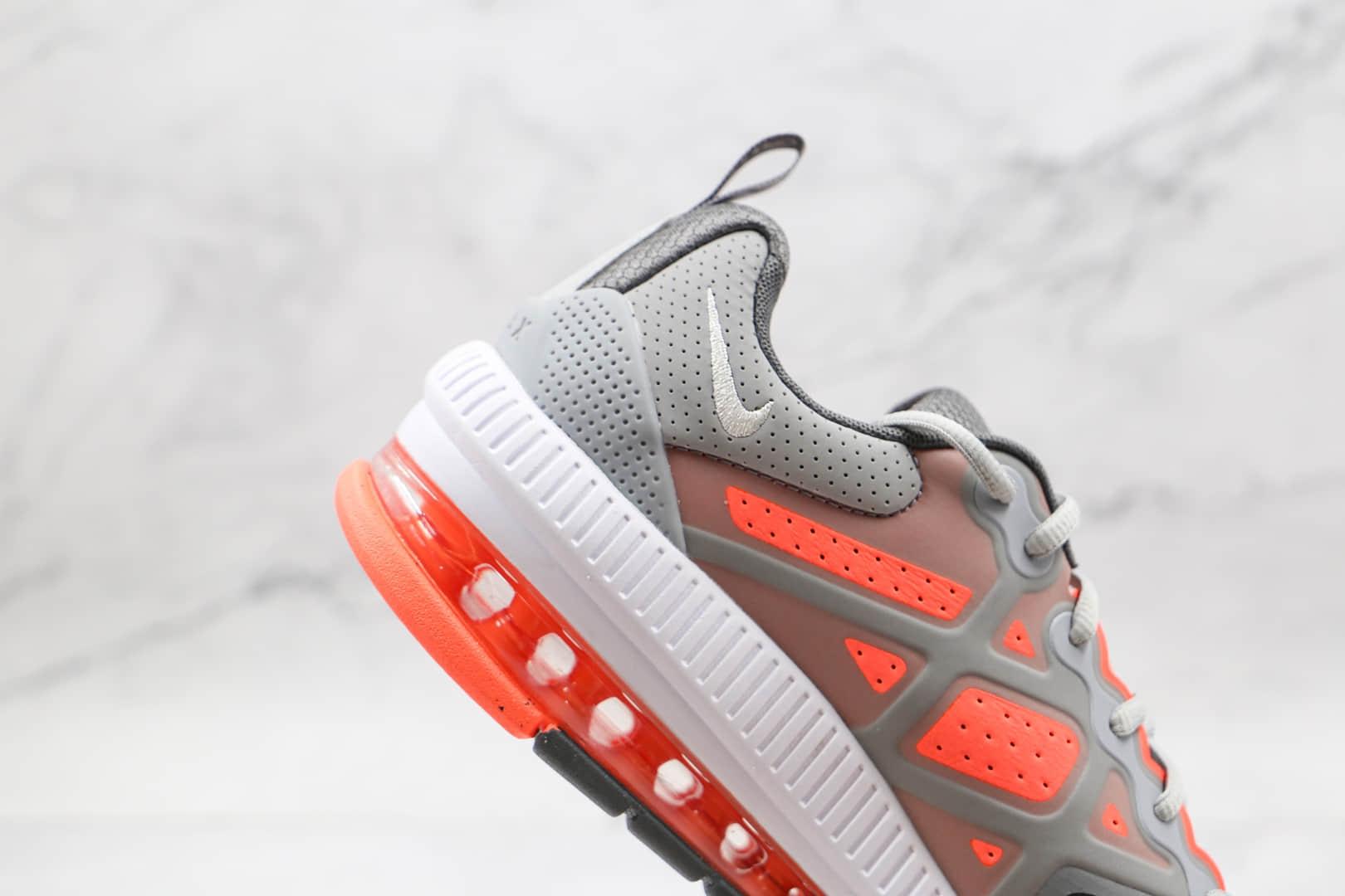 耐克Nike Air Max Genome纯原版本灰红色Genome气垫鞋原档案数据开发 货号:CW1648-004