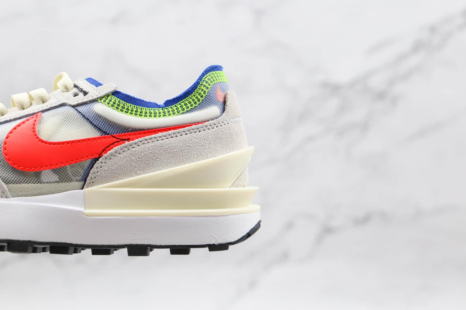 耐克Nike Waffle One纯原版本华夫镂空灰粉色解构鞋原鞋开模一比一打造 货号:DA7995-101