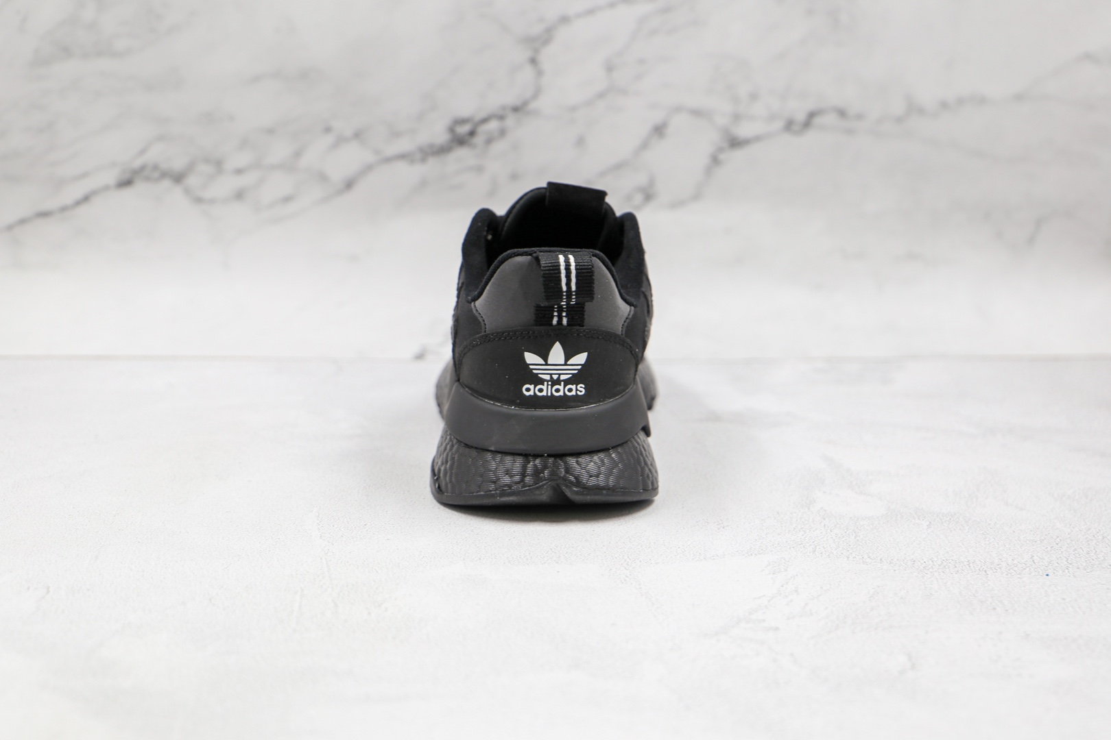 阿迪达斯Adidas Nite Jogger 2021 Boost纯原版本夜行者一代黑色爆米花跑鞋原楦头纸板打造 货号:FZ3661