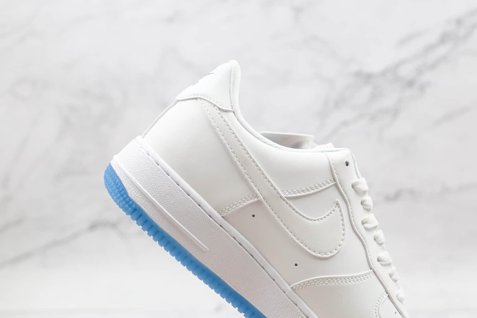 耐克Nike Air Force 1 Low UV纯原版本低帮空军一号纯白紫外线变色板鞋内置气垫 货号:DA8301-100