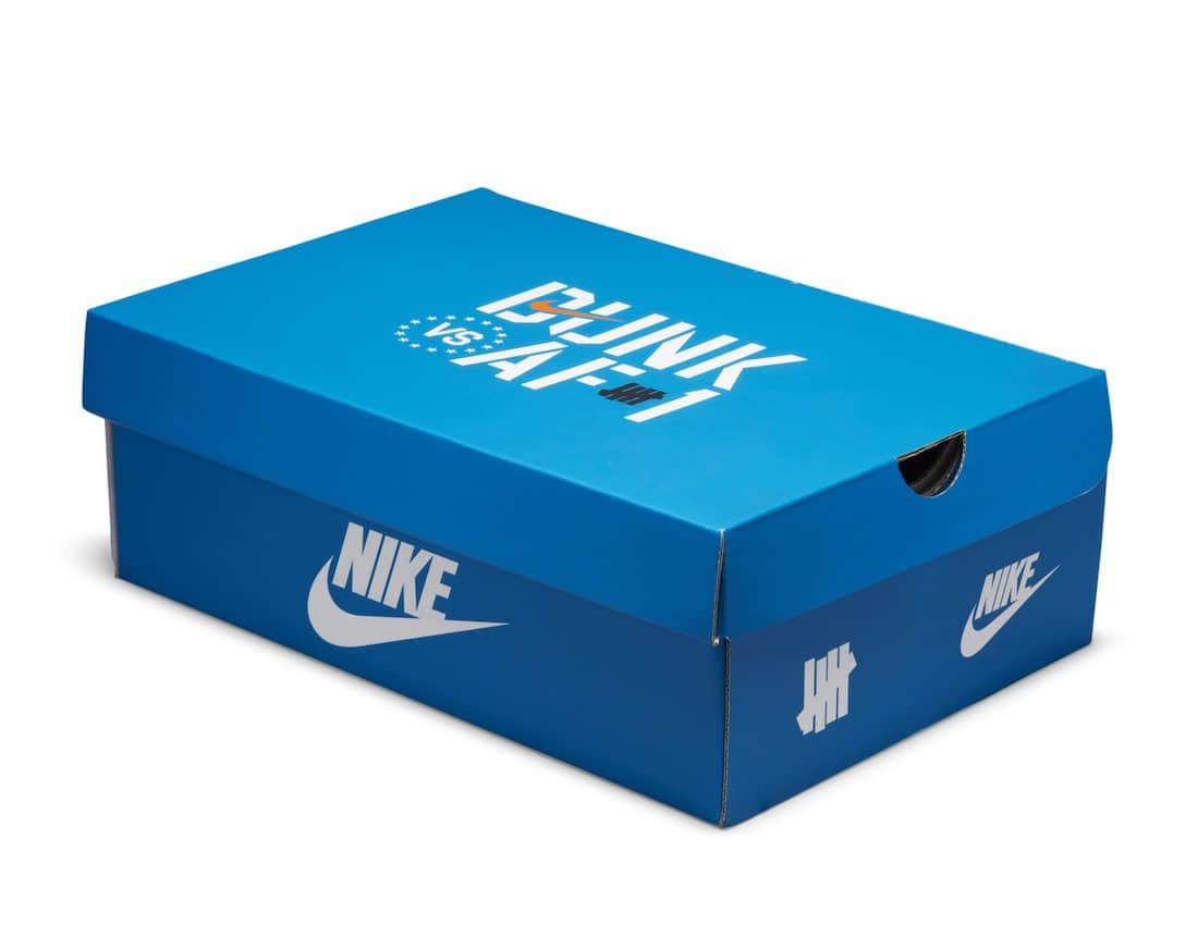 """蓝紫蛇纹!又一款UNDFTD x Nike Dunk""""Dunk vs AF1""""释出官图! 货号:DH6508-400"""