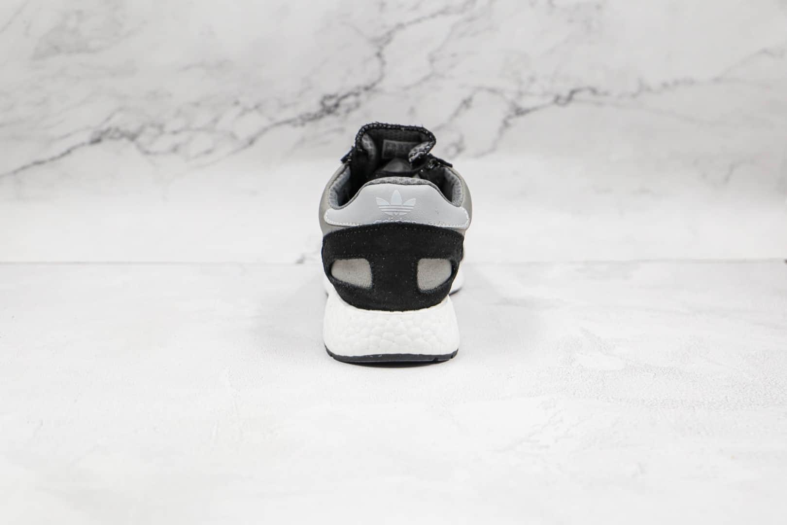 阿迪达斯Adidas NIKI I-5923 Runner纯原版本三叶草灰黑色I-5923伊尼基复古爆米花跑鞋原盒原标 货号:D97353