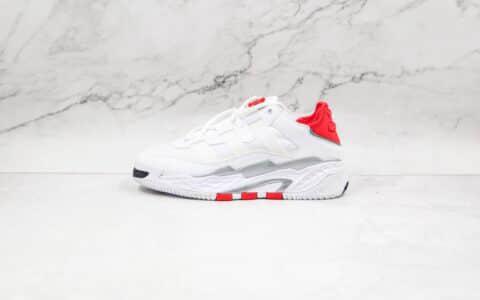 阿迪达斯Adidas Originals Niteball纯原版本街球系列白红色篮球鞋原楦头纸板打造 货号:H67539