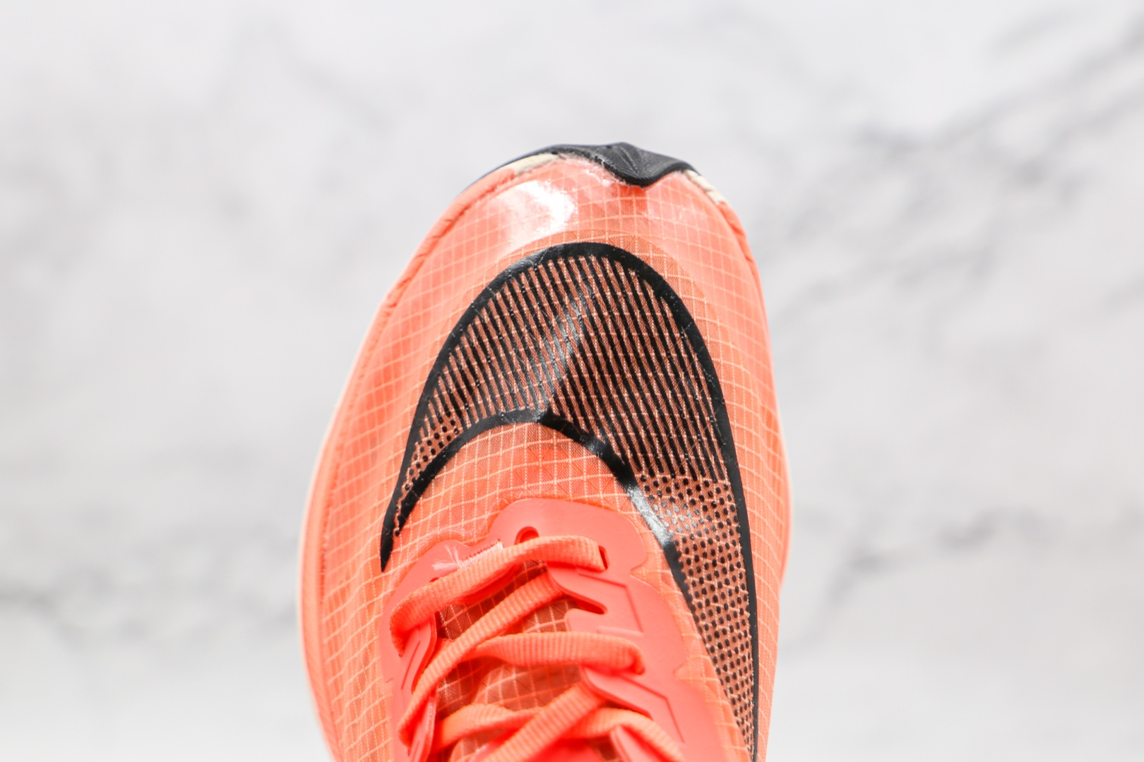 耐克Nike ZoomX Vaporfly Next%纯原版本马拉松橙色NEXT%半透明网纱跑步鞋原档案数据开发 货号:AO4568-800