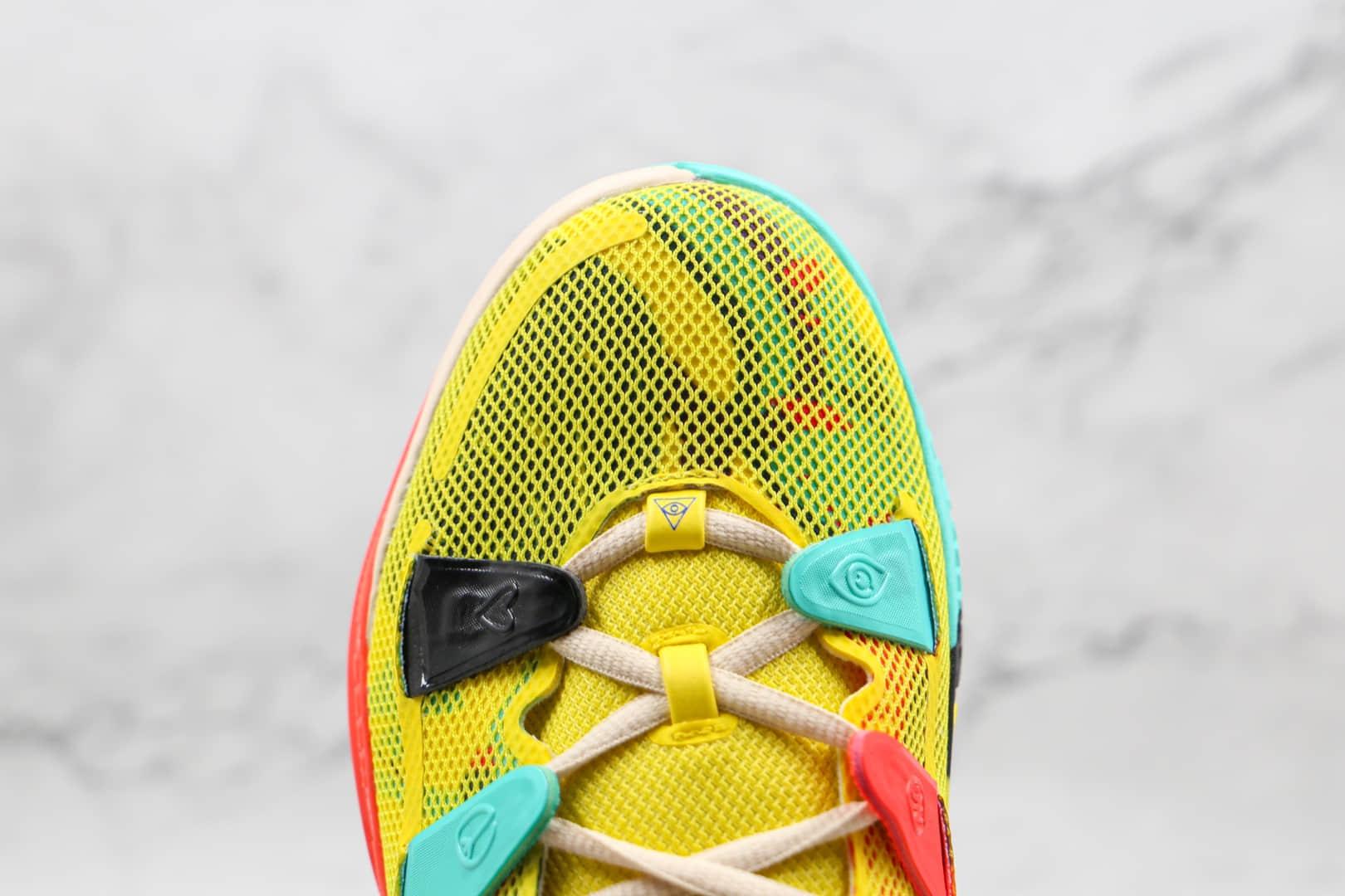 耐克Nike Kyrie 7 EP纯原版本欧文7代电动黄色篮球鞋内置气垫支持实战 货号:CT4080-700