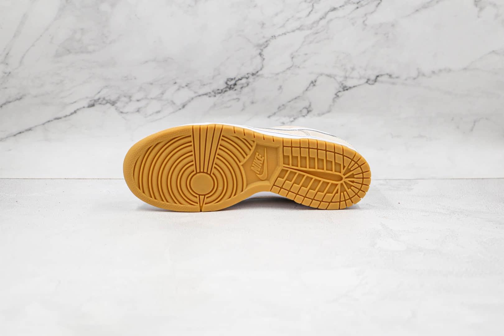耐克NIKE DUNK SB LOW纯原版本低帮SB DUNK夏威夷白黄色帆布板鞋内置后跟Zoom气垫 货号:308608-011