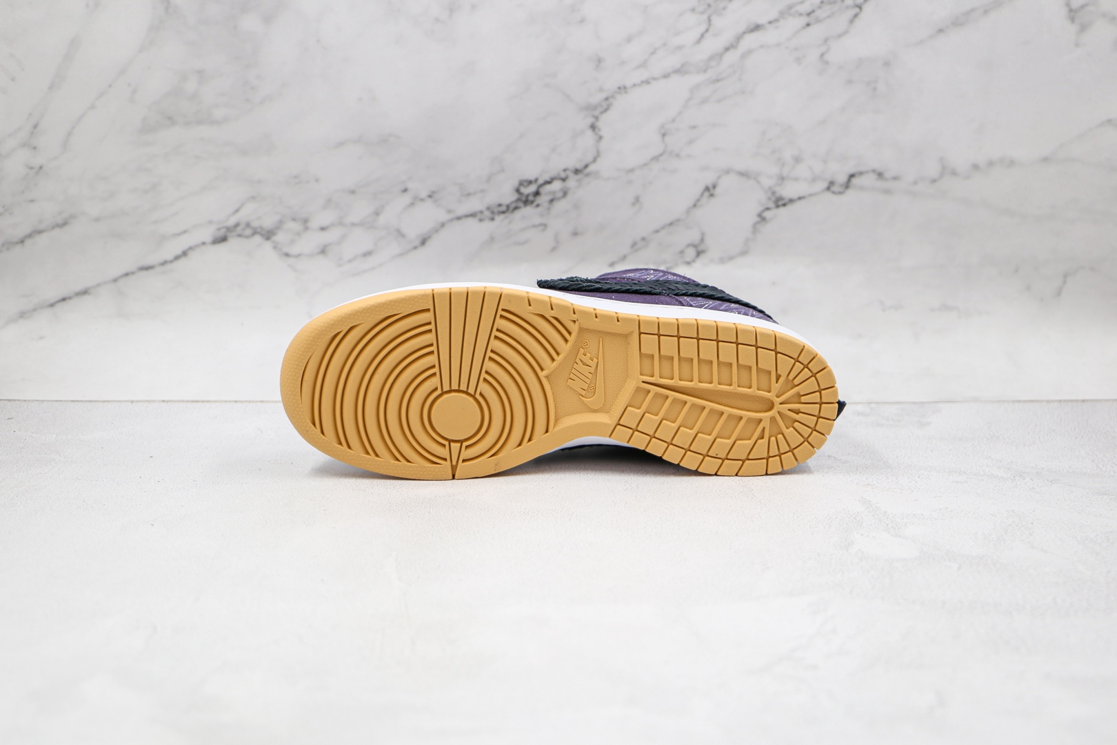 耐克NIKE DUNK SB LOW纯原版本低帮SB DUNK紫色黑色钩板鞋内置气垫 货号:DN1441-500