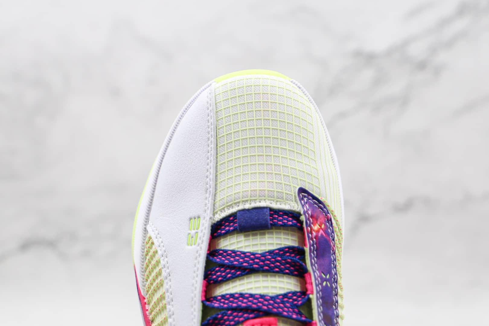 乔丹Air Jordan 35 Low Luka Doncic纯原版本白紫色AJ35东契奇镂空实战篮球鞋原档案数据开发 货号:DJ9805-190