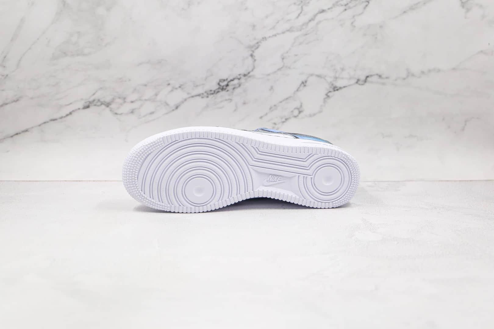 耐克Nike Air Force 1 Low 07纯原版本低帮空军一号二次元棉花糖涂鸦板鞋内置气垫 货号:CW2288-211