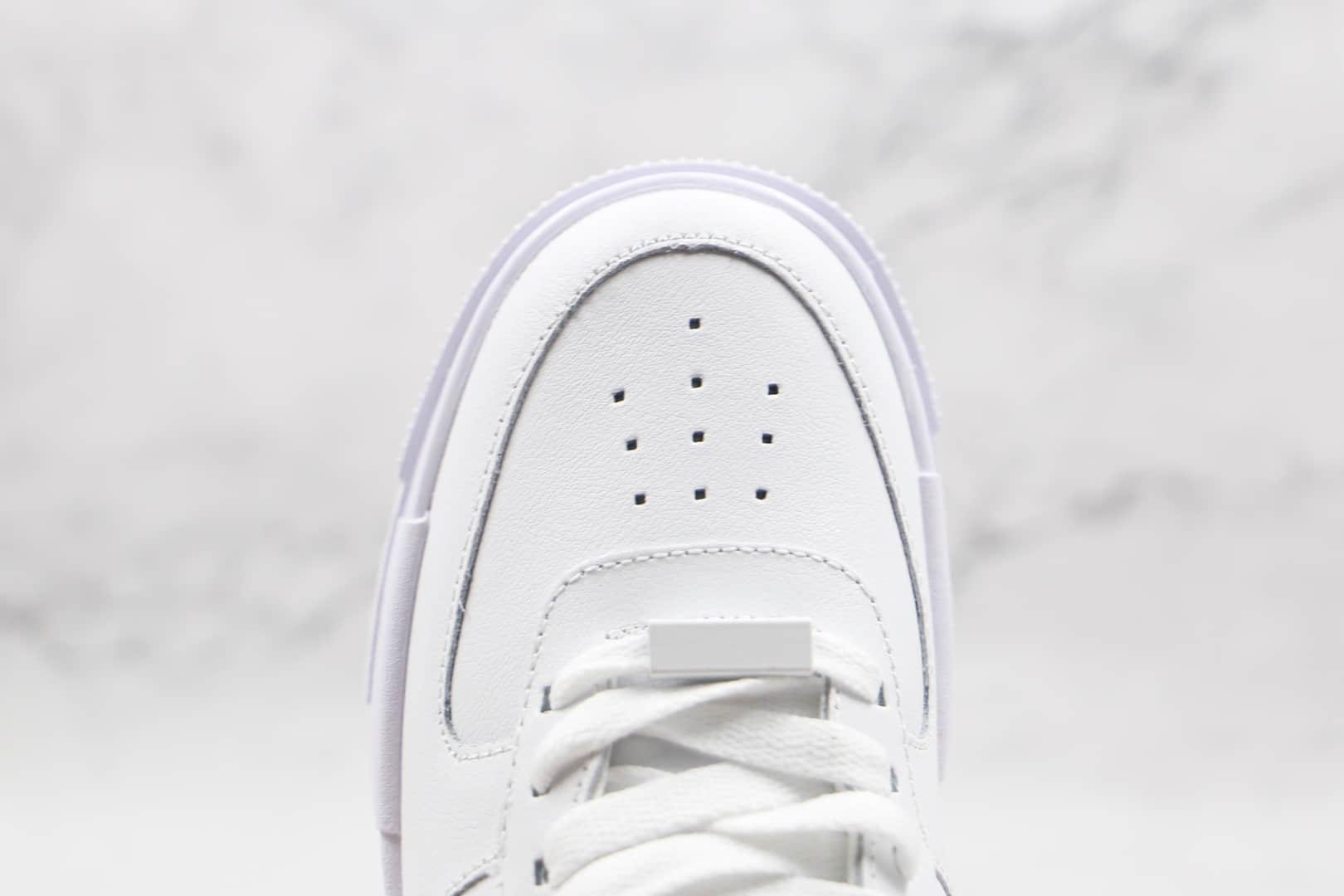 耐克Nike AIR FMRCE 1 PIXEL SE纯原版本低帮空军一号豹纹解构板鞋原楦头纸板打造 货号:DH9632-101