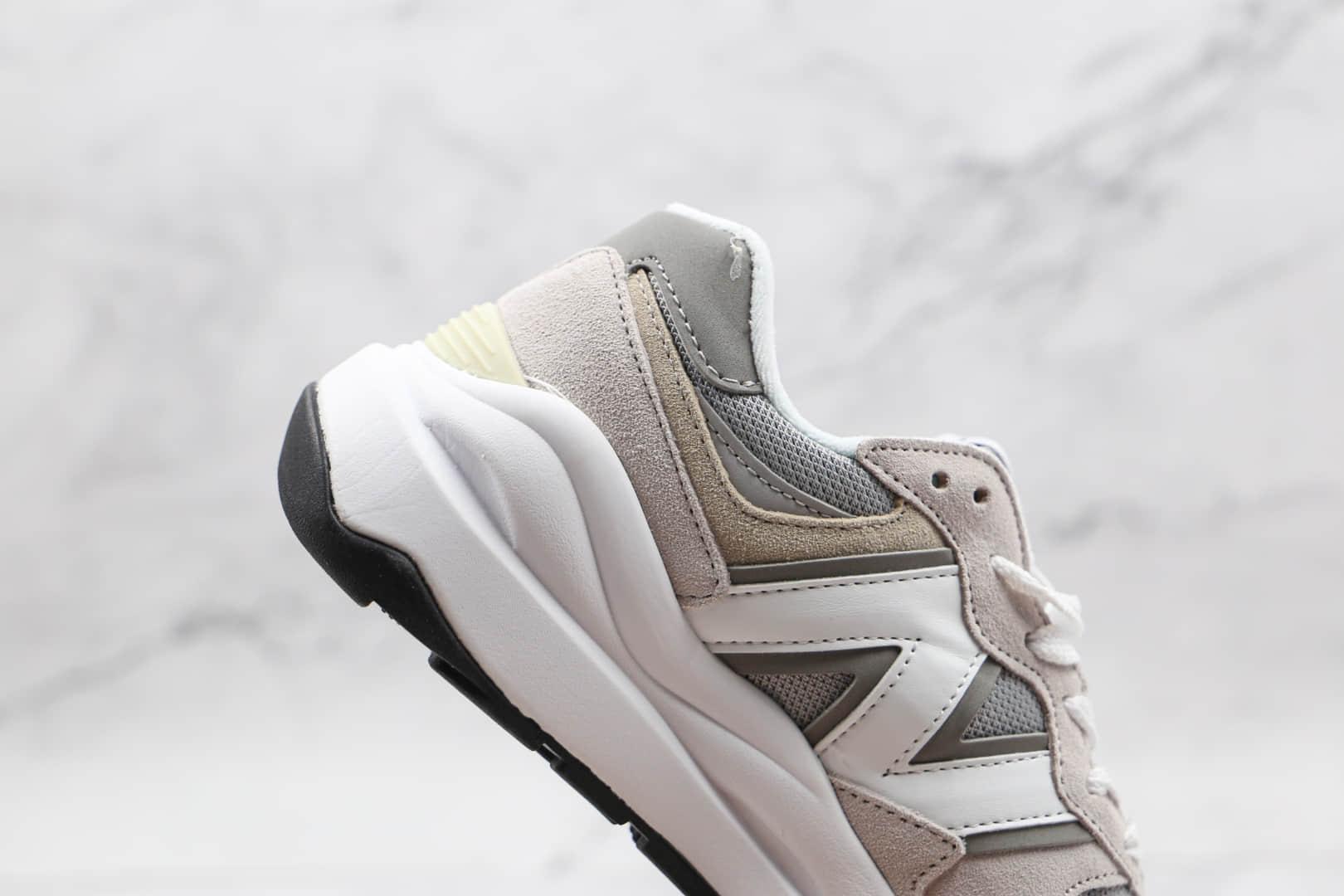 新百伦New Balance 5740纯原版本网面灰色NB5740慢跑鞋原档案数据开发 货号:M5740CA