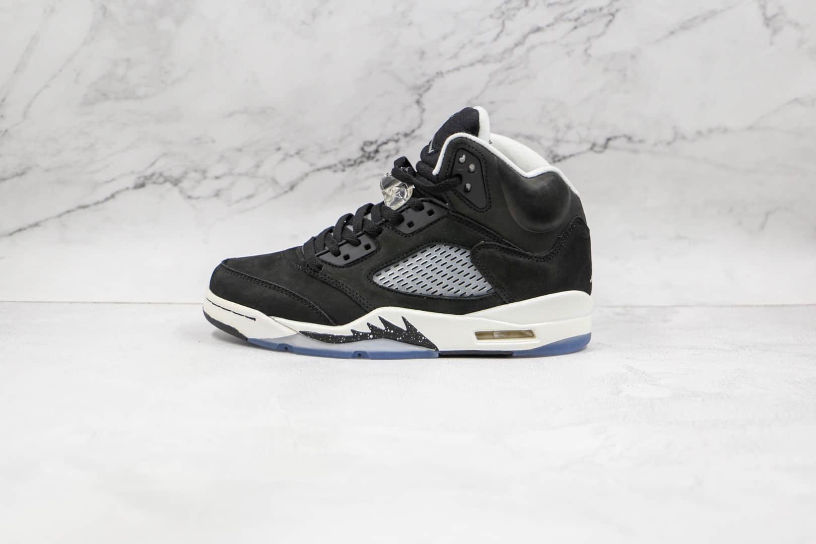 乔丹Air Jordan Retro 5 Oreo纯原版本高帮AJ5黑色奥利奥篮球鞋原档案数据开发 货号:CT4838-011