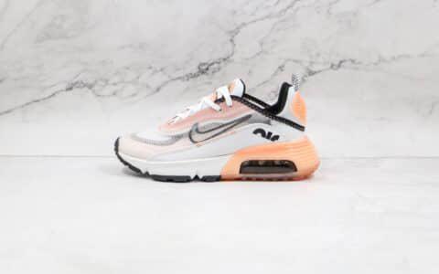 耐克Nike Air Max 2090纯原版本樱花粉网面Max2090太空大气垫鞋原档案数据开发 货号:CV8727-100