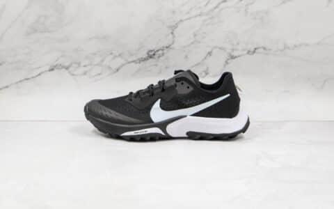 耐克Nike Air Zoom Terra Kiger 7纯原版本越野跑鞋黑白色原档案数据开发 货号:CW6062-002