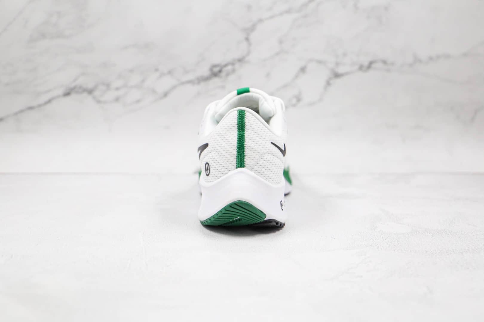 耐克Nike Air Zoom Pegasus 38纯原版本登月38代白绿色慢跑鞋原楦头纸板打造 货号:DH4252-100