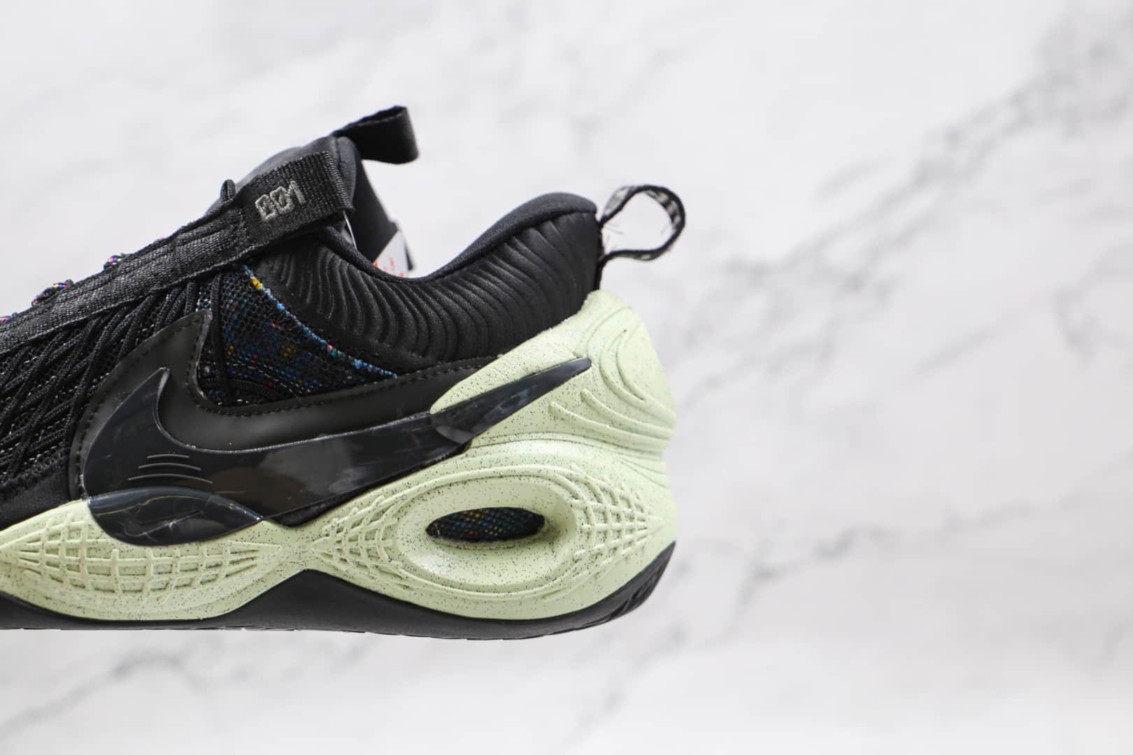 耐克NIKE Cosmic Unity EP纯原版本环保材料黑色实战篮球鞋原鞋开模一比一打造 货号:DD2737-001
