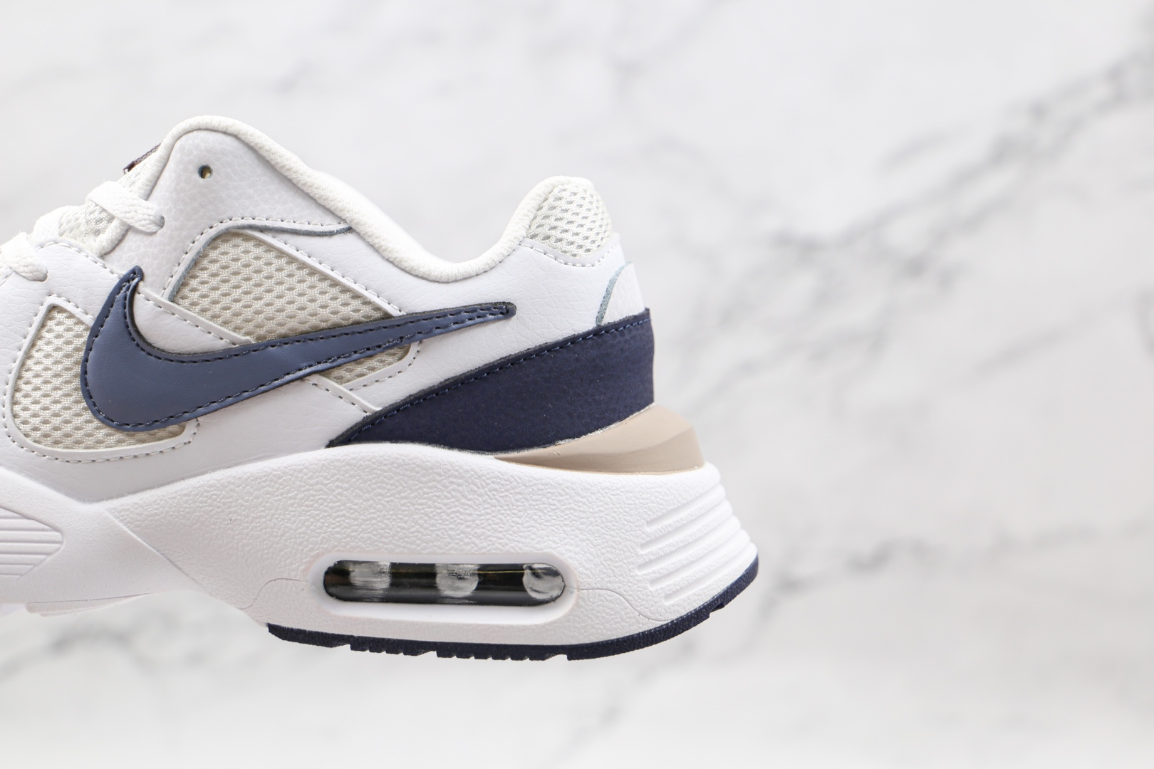 耐克Nike Air Max Fusion 2020纯原版本白灰黑色复古气垫鞋原档案数据开发 货号:CJ1670-105